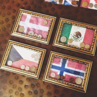 flag coins