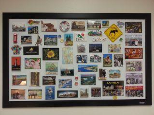 framed magnets